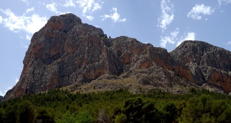 Via ferrata on Ponoch in La Nuncia, Spain
