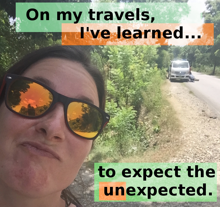 learning to expect the unexpected while exploring haiti