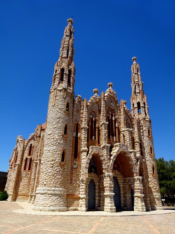 Santa Maria Sanctuary in Novelda