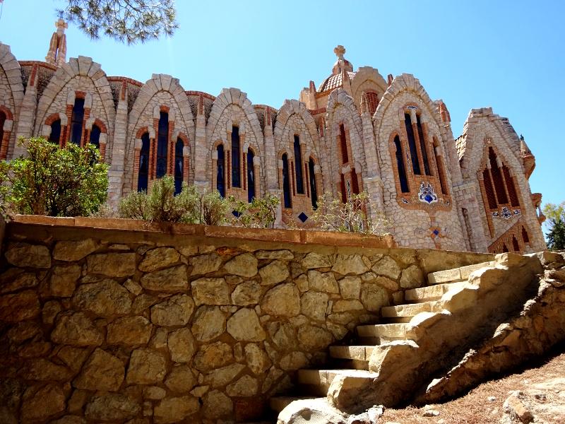 Santa Maria Sanctuary in Novelda, near Elche