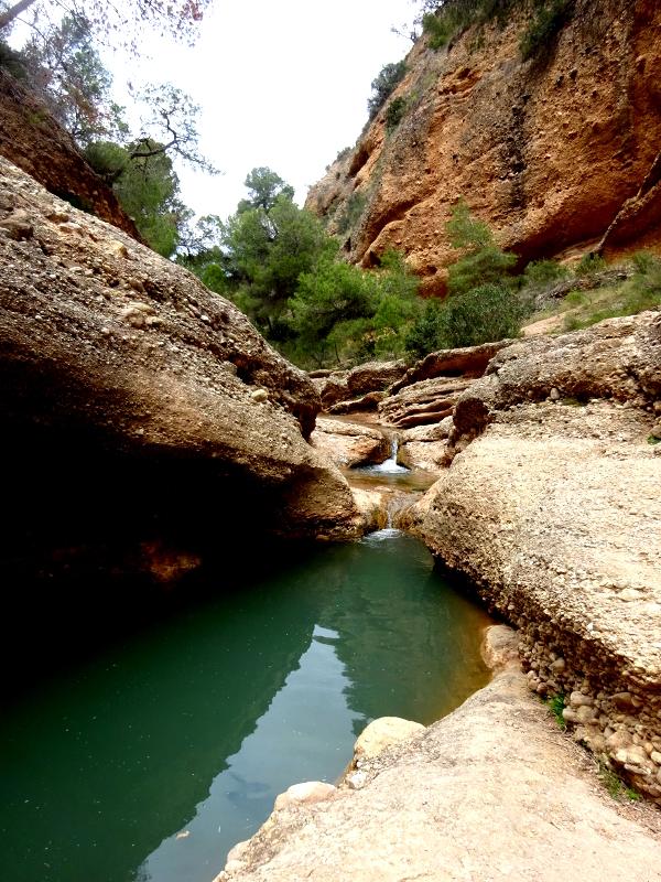 The secret swimming hole of Rio Chicamo