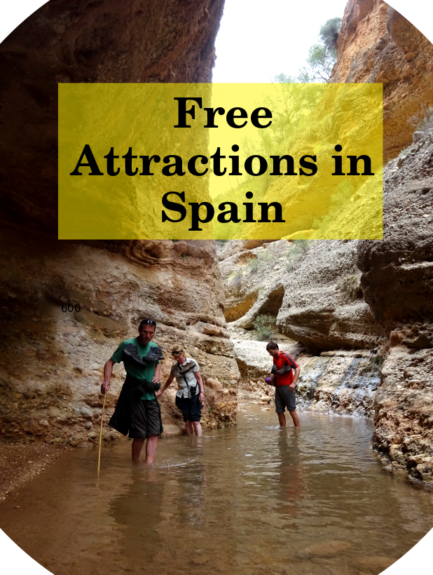 free things to do in Spain