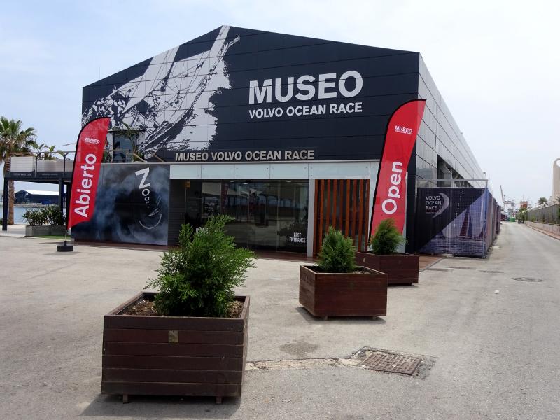 Volvo Ocean Museum in Alicante, Spain